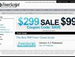 Fiverr script V2.7 + V3.7 Clone Script