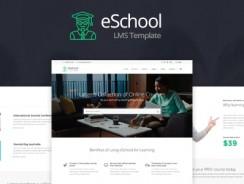 eSchool v1.0 – Education & Joomla LMS Template