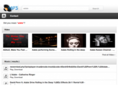 Mp3 Search Engine script nulled
