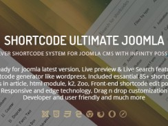 Shortcode Ultimate Plugin for Joomla v2.0