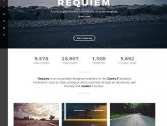Rockettheme Requiem 1.1.1 J3.x Template