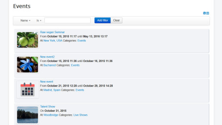 RSEvents Pro 1.9.12 extension J2.5/3.x modules plugins language included