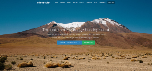 Chevereto Image Hosting Script 2.5.2 clone nulled